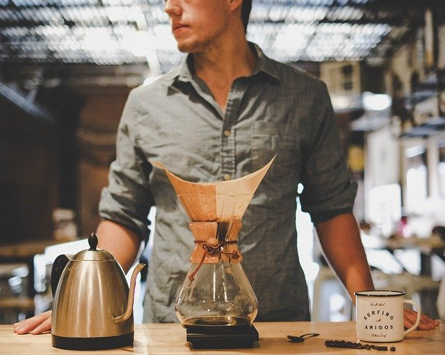 coffee drip brew