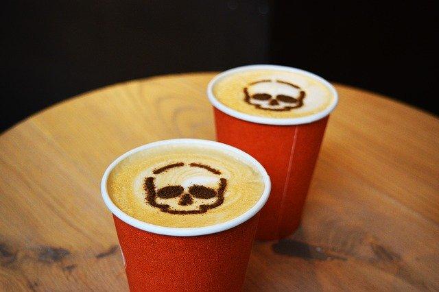 skull cappuccinos