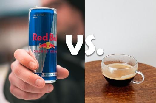 coffee vs redbull