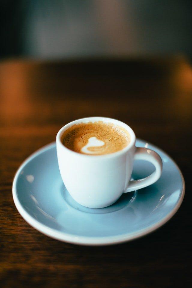 Macchiato at cafe