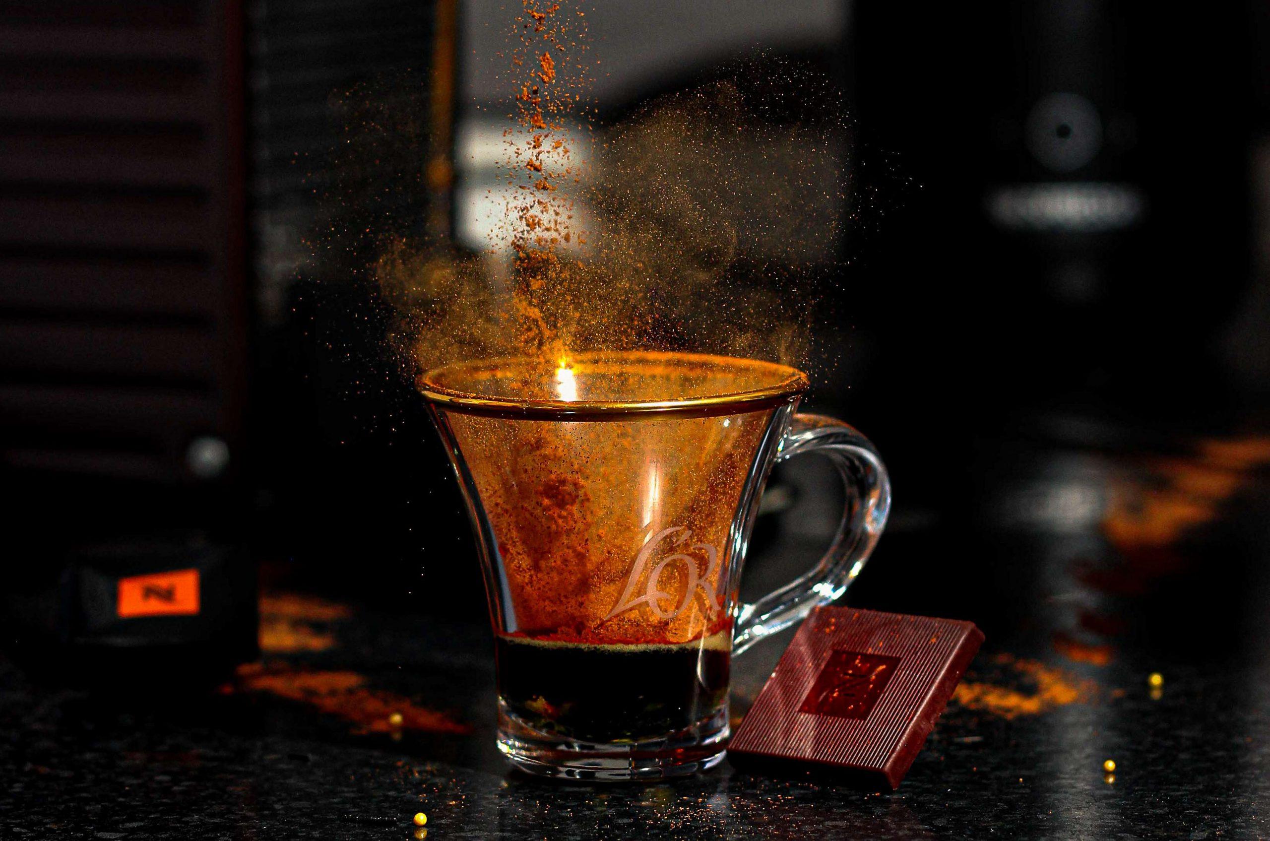 Nespresso with mug