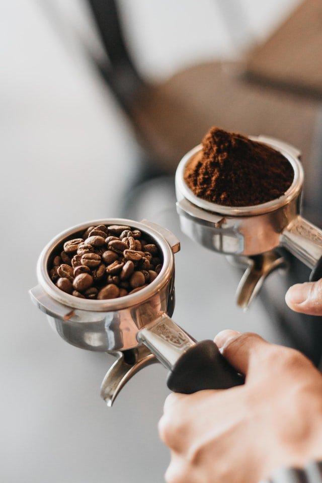 ground coffee vs beans