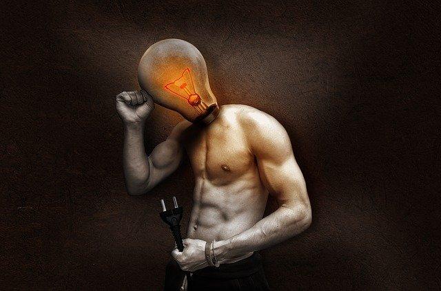 man needing energy boost
